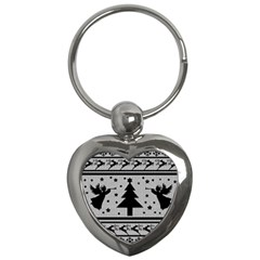 Ugly Christmas Sweater Key Chains (heart)