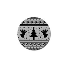 Ugly Christmas Sweater Golf Ball Marker