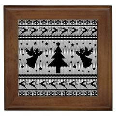 Ugly Christmas Sweater Framed Tiles