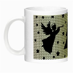 Ugly Christmas Sweater Night Luminous Mugs