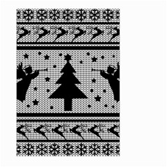 Ugly Christmas Sweater Large Garden Flag (two Sides)