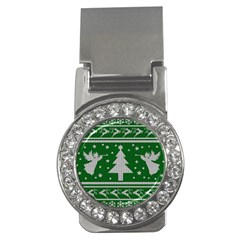 Ugly Christmas Sweater Money Clips (cz)