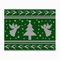 Ugly Christmas Sweater Small Glasses Cloth (2 Side)