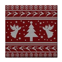 Ugly Christmas Sweater Tile Coasters