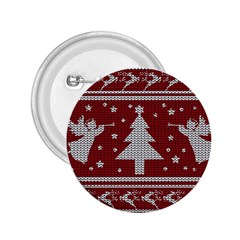 Ugly Christmas Sweater 2 25  Buttons