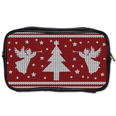 Ugly Christmas Sweater Toiletries Bags 2 Side