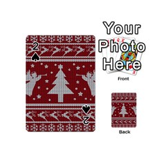 Ugly Christmas Sweater Playing Cards 54 (mini)