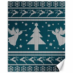 Ugly Christmas Sweater Canvas 11  X 14