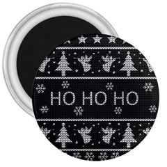 Ugly Christmas Sweater 3  Magnets