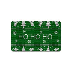 Ugly Christmas Sweater Magnet (name Card)