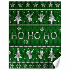 Ugly Christmas Sweater Canvas 18  X 24