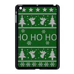 Ugly Christmas Sweater Apple Ipad Mini Case (black)