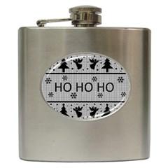 Ugly Christmas Sweater Hip Flask (6 Oz)