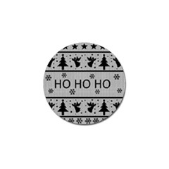 Ugly Christmas Sweater Golf Ball Marker (10 Pack)