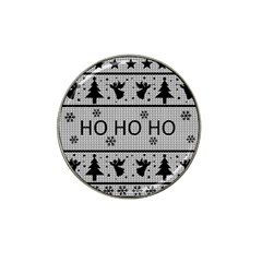 Ugly Christmas Sweater Hat Clip Ball Marker (4 Pack)