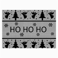 Ugly Christmas Sweater Large Glasses Cloth