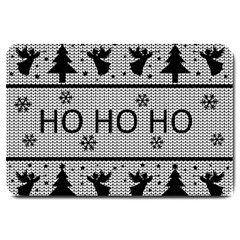 Ugly Christmas Sweater Large Doormat