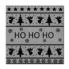 Ugly Christmas Sweater Face Towel