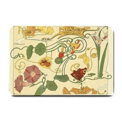 Floral Art Nouveau Small Doormat
