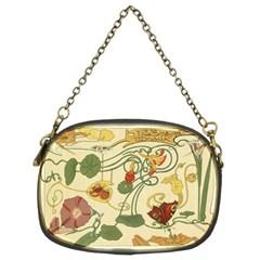 Floral Art Nouveau Chain Purses (two Sides)