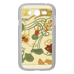 Floral Art Nouveau Samsung Galaxy Grand Duos I9082 Case (white)