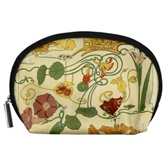 Floral Art Nouveau Accessory Pouches (large)