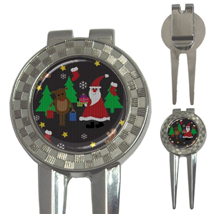 Ugly Christmas Sweater 3-in-1 Golf Divots