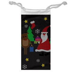 Ugly Christmas Sweater Jewelry Bag