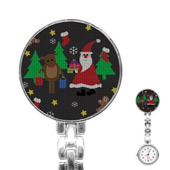 Ugly Christmas Sweater Stainless Steel Nurses Watch