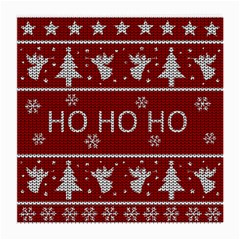 Ugly Christmas Sweater Medium Glasses Cloth (2 Side)
