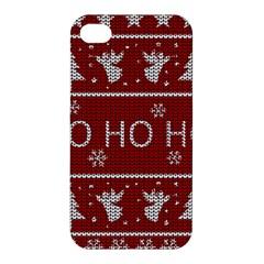 Ugly Christmas Sweater Apple Iphone 4/4s Hardshell Case