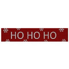 Ugly Christmas Sweater Small Flano Scarf