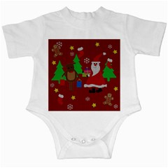 Ugly Christmas Sweater Infant Creepers