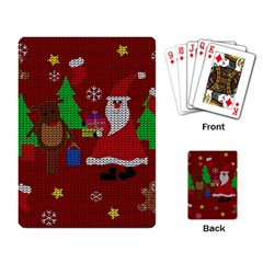 Ugly Christmas Sweater Playing Card