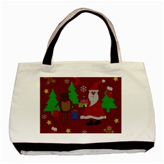 Ugly Christmas Sweater Basic Tote Bag
