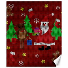 Ugly Christmas Sweater Canvas 8  X 10