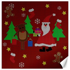 Ugly Christmas Sweater Canvas 12  X 12