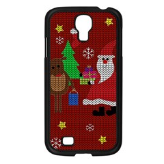 Ugly Christmas Sweater Samsung Galaxy S4 I9500/ I9505 Case (black)