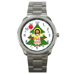 Jesus   Christmas Sport Metal Watch