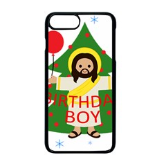Jesus   Christmas Apple Iphone 7 Plus Seamless Case (black)