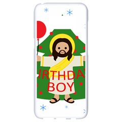 Jesus   Christmas Samsung Galaxy S8 White Seamless Case