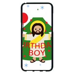 Jesus   Christmas Samsung Galaxy S8 Plus Black Seamless Case