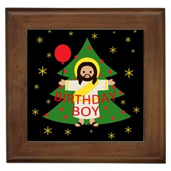 Jesus   Christmas Framed Tiles