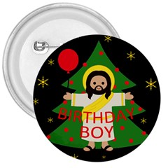 Jesus   Christmas 3  Buttons