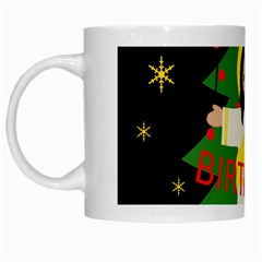 Jesus   Christmas White Mugs