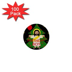 Jesus   Christmas 1  Mini Buttons (100 Pack)