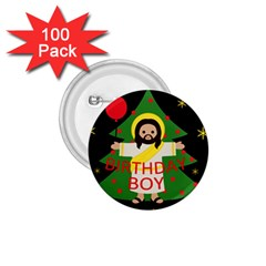 Jesus   Christmas 1 75  Buttons (100 Pack)