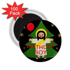 Jesus   Christmas 2 25  Magnets (100 Pack)