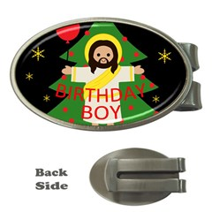 Jesus   Christmas Money Clips (oval)