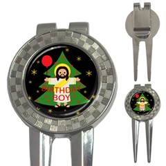 Jesus   Christmas 3 In 1 Golf Divots